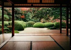 Japanese garden and tatami . , Japanese garden and tatami . Modern Japanese Garden, Japanese Garden Landscape, Japanese Interior, Japanese House, Japanese Gardens, Zen Gardens, Asian Landscape, Temple Gardens, Japanese Style