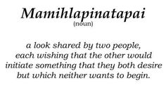Did not know there was a word for it! Perfect