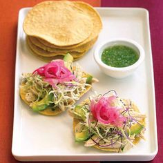 Yucatecan Tostadas (<i>Salbutes</i>) - Easy Mexican Dinners - Sunset