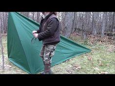 How to Make a Tarp Tent with Floor http://rethinksurvival.com/make-tarp-tent-floor-video/