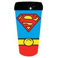 Superman Costume Plastic Travel Mug  http://www.retroplanet.com/PROD/33560