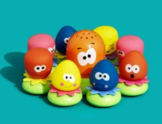 Best #holiday #toys for babies and toddlers: TOMY Ocotpal Squirters