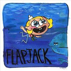 Nevermind by Nirvana + The Marvelous Misadventures of Flapjack. Ashlyn Anstee.