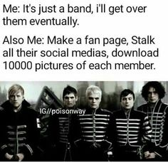 It's not a band it's an idea