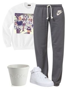 """""""Unbenannt #3033"""" by summerlove1d ❤ liked on Polyvore featuring NIKE and Crate and Barrel"""