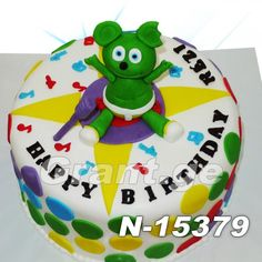 Gummy Bear Cakes, Gummy Bears, Yoshi, Bakery, Gummi Bears, Bakery Business, Bakeries