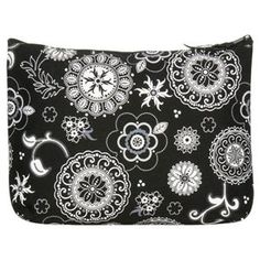 Thirty-One Zipper Pouches Onyx Medallion >> Additional details at the pin image, click it  : Travel cosmetic bag