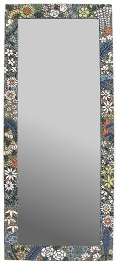 The Secret Garden Mosaic Mirror