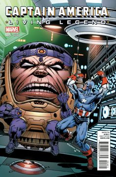Captain America: Living Legend # 4 (Variant) by Jim Starlin