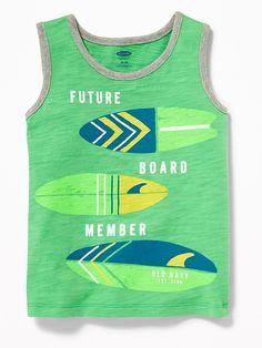 Old Navy Graphic Slub-Knit Tank for Toddler Boys Boys New Fashion, Toddler Boy Fashion, Little Boy Fashion, Toddler Boy Outfits, Kids Outfits, Toddler Boys, Teen Boys, Fall Outfits, Stylish Baby Clothes