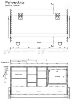 Plywood Tool Chest Plans - Workshop Solutions