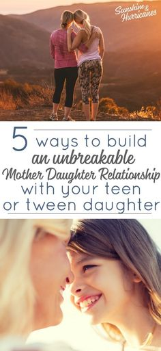 Do you want to be closer to your adolescent daughter? Here are 5 Ways You Can Build an Unbreakable Mother Daughter Relationship with Your Tween/Teen via # Parenting daughters Do You want to feel closer to your tween or teen daughter? Parenting Teens, Kids And Parenting, Parenting Hacks, Parenting Articles, Parenting Styles, Parenting Goals, Mindful Parenting, Gentle Parenting, Parenting Quotes