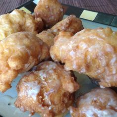 Homemade Apple Fritters Recipe from Grandmother's Kitchen