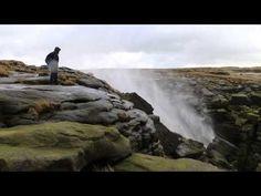 Waterfall in England that Flows Upward - CAT IN WATER