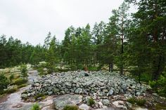 Sammallahdenmäen kiviröykkiöitä. Geography, Wonders Of The World, Finland, Mountains, Nature, Travel, Science, Kids, Young Children