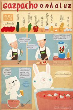 Pan y Peter: Gazpacho Andaluz