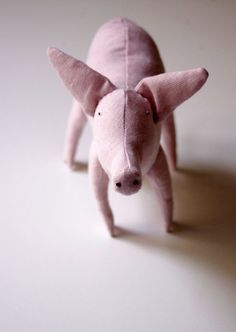 The pink piggy by adatine on Etsy