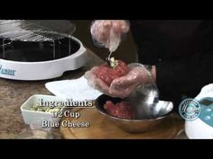How to cook Blue Cheese Burgers in the NuWave Oven