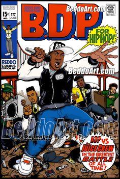 Hip Hop And R&b, Hip Hop Rap, Comic Book Covers, Comic Books Art, Boogie Down Productions, Simpsons Drawings, Krs One, Arte Hip Hop, Hip Hop World