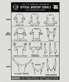 Steps to worshiping. Lol