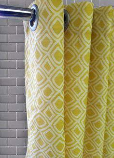 Geo Diamond Shower Curtain  Free Shipping  Pick by maisonboutique,