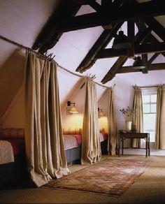 Amelia Handegan shared bedroom. Lake house cabin. Everyone in one room. Co-sleep.