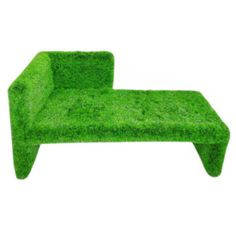 This is from Cribfashion.com. i would love to have this on my front porch. Stop by Garage Bar in downtown Louisville to see some locally made astro turf outdoor seating!