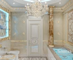 Bathroom Design in Dubai, Luxury Bathroom Interior Dubai, Photo 3