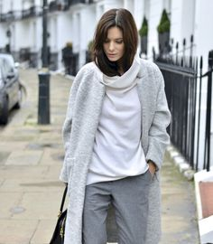 great greys. Hedvig in London. #TheNorthernLight