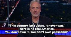 This was AMAZEBALLS: Jon Stewart Took Over 'The Late Show' and Unleashed Hell on Trump Supporters