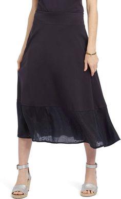 acf624bdca5e Women's Jonathan Simkhai Gingham Knit Trumpet Skirt, Size Large ...