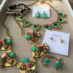 How GORGEOUS are these pieces!? Tribal so on Trend. Get the look at www.stelladot.com/nikkidotti