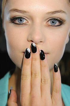 WARNING Seriously HAUTE! Fashion Week #Nails!