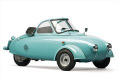 1950年代にデザインされた「幻のマイクロカー」Motoplanが販売される