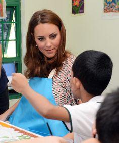 Duchess Catherine In Singapore.