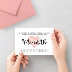 Will You Be My Bridesmaid Printable Card, Bridesmaid Propsal Card Template, Wedding Party Invitation, Coral Wedding Decor Be My Bridesmaid Cards, Will You Be My Bridesmaid, Bridesmaid Proposal, Bridesmaid Ideas, Wedding Planning On A Budget, Plan Your Wedding, Wedding Party Invites, Party Invitations, Coral Wedding Decorations
