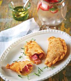 Empanadas de jamón con queso