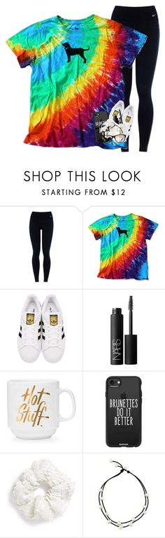 """School starts in a week!!:(("" by labures on Polyvore featuring NIKE, adidas Originals, NARS Cosmetics, Casetify, Topshop and Ralph Lauren"