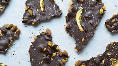 Loaded Chocolate Bark from the Healthier Holiday Desserts e-Cookbook