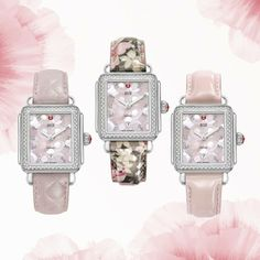 The Bloom Strap Collection - Blushing Hues for Ultimate Femininity.    Shop now for Valentine's Day  176 Broadway, New York, NY 10038 (P) 212.732.0890