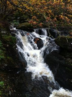 Inversnaid waterfall