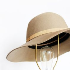 The brightest idea we've had all day... Styling the Dunaway Hat in Camel ($195.00) with all of our favorite spring and summer looks. Shop yours online now!