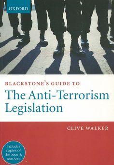 Blackstone's guide to the anti-terrorism legislation / Clive Walker. - Oxford : Oxford University Press, 2002. - 1st. published Valoración No hay valoraciones de este documento