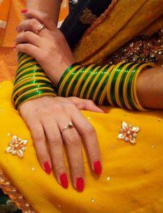 Bangles ~ Bridal Bangles, Gold Bangles, Bridal Jewelry, Ruby Bangles, Indian Bangles, Bangle Set, Bangle Bracelets, Bangle Ceremony, Thread Bangles Design