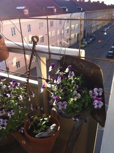 My rusty balcony