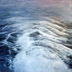 Ramón Serrano, Adios, 2011, oil on canvas, 78x78in  © Courtesy Corkin Gallery #travel #ocean