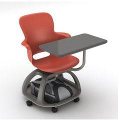 Fabulous Mobile Student Chair Desk