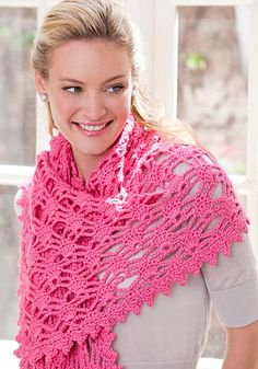 I have this pattern for one of the gazillion yarns in my stash...just don't remember which one.