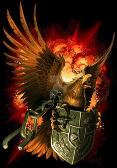 Garuda by Firnadi Eagle Wallpaper, Lion Wallpaper, Galaxy Wallpaper, American Flag Drawing, Eagle Drawing, Eagle Pictures, Monkey Art, Eagle Art, Indonesian Art