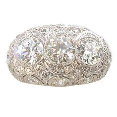 Eduardian Diamond Ring